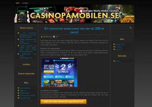 Spela casinospel i mobiltelefonen eller surfplattan!
